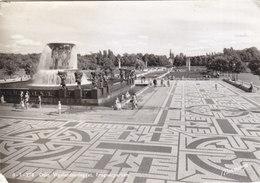 Oslo - Vigelandsanlegget , Frognerparken 1961 - Norvège