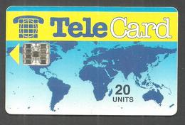 PAKISTAN USED CHIP PHONECARD TELECARD 20 UNITS - Pakistan