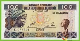 Voyo GUINEA 100 Francs 1998 P35a(2) B324b KL UNC Bananas - Guinea