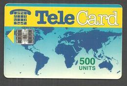 PAKISTAN USED CHIP PHONECARD TELECARD 500 UNITS - Pakistan