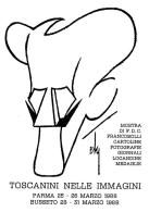 [MD1872] CPM - CARTOLINA UFFICIALE CIRCOLO TOSCANINI - DIS. DI DE SETA - IN RILIEVO - CON ANNULLO 25.3.1988 - NV - Cantanti E Musicisti