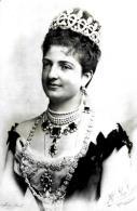 [MD1875] CPM - MARGHERITA DI SAVOIA TORINO 1861 BORDIGHERA 1926 REGINA D'ITALIA - CON ANNULLO 20.11.2011 - NV - Familias Reales