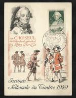 Carte Maximum Premier Jour Lyon Le 26/03/1949 Le N°828 Journée Du Timbre TB  Soldé à Moins De 20 %  ! ! ! - ....-1949