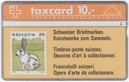 SWITZERLAND C-056 Hologram PTT - Collection, Stamp - 202A - Used - Switzerland