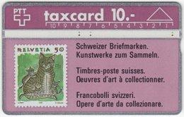 SWITZERLAND C-057 Hologram PTT - Collection, Stamp - 201D - Used - Switzerland
