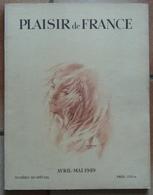 Plaisir De France Numéro Mi-spécial Avril Mai 1949 - 1900 - 1949
