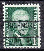 USA Precancel Vorausentwertung Preo, Locals South Dakota, Highmore 839 - Vereinigte Staaten