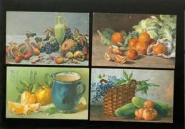 Beau Lot De 20 Cartes Postales De Fantaisie Nature Morte  Mooi Lot Van 20 Postkaaten Van Fantasie Stilleven - 20 Scans - Postcards
