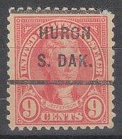 USA Precancel Vorausentwertung Preo, Locals South Dakota, Huron 561-232 - Vereinigte Staaten