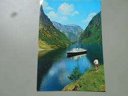 NORVEGE NORGE NORWAY TURISTBAT I GUDVANGEN - Norvège