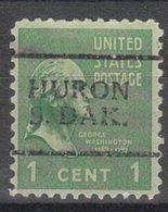 USA Precancel Vorausentwertung Preo, Locals South Dakota, Huron 701 - Vereinigte Staaten