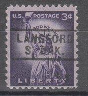 USA Precancel Vorausentwertung Preo, Locals South Dakota, Langford 729 - Vereinigte Staaten