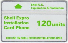 GREAT BRITAIN D-497 Hologram BT - Oil Rig, Shell - 249K - Used - United Kingdom