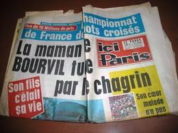 ICI PARIS BOURVIL AFFAIRE MEDREAC Bretagne MARAIS MARGARET TONY N° 1330 De 1971 - People