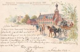 Exposition Internationale De Bruxelles 1897, Kermesse, Quartier Du Vieux Bruxelles (pk47919) - Expositions Universelles