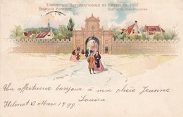 Exposition Internationale De Bruxelles 1897, Kermesse, Quartier Du Vieux Bruxelles (pk47922) - Expositions Universelles