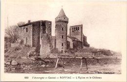 15 L'Auvergne - Cantal - ROFFIAC - L'église Et La Château - France
