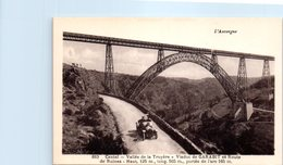 15 L'Auvergne - Cantal - GARABIT - Vallée De La Truyère - Route De Ruines (auto) - Frankrijk