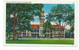 Postcard Trinidad 1964 Used Not Sent.queen's Royal College - Postcards