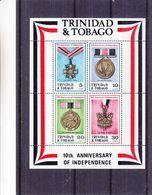Trinidad & Tobago - Yvert BF 5 ** - MNH - Médailles - - Trinité & Tobago (1962-...)
