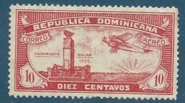 Republique Dominicaine   - Aérien  - Yvert N°   16   (*)   - Aab 18507 - Dominicaine (République)