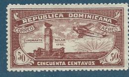 Republique Dominicaine   - Aérien  - Yvert N°   20  (*)   - Aab 18508 - Dominicaine (République)