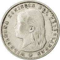 Monnaie, Pays-Bas, Wilhelmina I, 25 Cents, 1895, TTB, Argent, KM:115 - [ 3] 1815-… : Kingdom Of The Netherlands