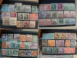 Bohême Et Moravie - Lot De Timbres Anciens - Collections (without Album)