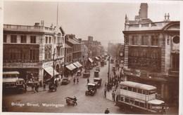 Warrington - Bridge Street , Bus 1935 - Autres