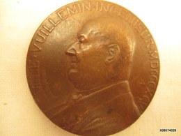 Medaille En Bronze Emile Vuillemin1895 Ingenieur  Aux Mines  D'Aniche Diametre  5 Cm   Tb état - Francia