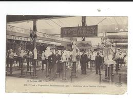 CPA Lyon 69 Exposition 1914 Section Italienne Carte Avec Défauts Circulé - Autres