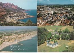 50 Cartes--vues Aeriennes De France Cpm Couleur - Postcards