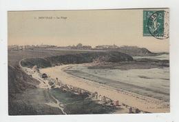 50 - DONVILLE / LA PLAGE (carte Toilée) - France