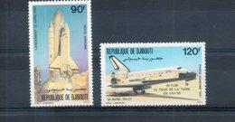 Djibouti. Poste Aérienne. Navette Spatiale - Djibouti (1977-...)