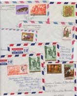 RWANDA Réunion De 7 Lettres  7 Letters  7  Brieven Collège Christ-Roi Nyanza Vers Clermont Belgique - Rwanda