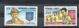 Djibouti. Poste Aérienne. Scoutisme - Djibouti (1977-...)