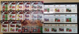 Q372 !!! IMPERFORATE, PERFORATE 2012 BURUNDI NATURE PLANTS CAFE DU BURUNDI 12KB+2BL+10 LUX BL MNH - Ernährung