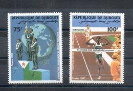 Djibouti. 1ere Coupe Du Monde De Marathon - Djibouti (1977-...)