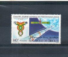 Djibouti. 17 Mai 1981. Journée Mondiale Des Télécommunications - Djibouti (1977-...)