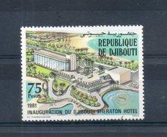 Djibouti. 1981. Inauguration Du Djibouti Sheraton Hotel - Djibouti (1977-...)