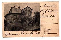 Castello Di Magrano Gualdo Tadino Perugia Viaggiata 1929 - Perugia
