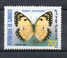 Djibouti. Papillon. Colotis Protomedia - Djibouti (1977-...)