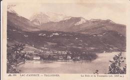 CPA - 236. LAC D'ANNECY TALLOIRES - La Baie Et La Tournette - Annecy