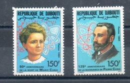Djibouti. Pierre Et Marie Curie - Djibouti (1977-...)
