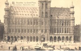 Bruxelles - CPA - Brussel - Grand'Place - Hôtel De Ville - Marktpleinen, Pleinen