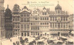 Bruxelles - CPA - Brussel - Grand'Place - Maisons Des Merciers, Des Bateliers - Marktpleinen, Pleinen