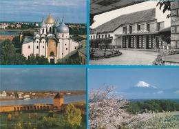 WERELD Lot Van 60 Postkaarten - Postcards