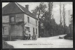 CPA 61 - Sainte-Céronne, Le Carrefour De Poix - France