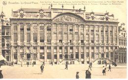 Bruxelles - CPA - Brussel - Grand'Place - Maisons De La Bourse - Marktpleinen, Pleinen