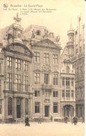 Bruxelles - CPA - Brussel - Grand'Place - Maisons Des Brasseurs - Maison Des Bouchers - Marktpleinen, Pleinen